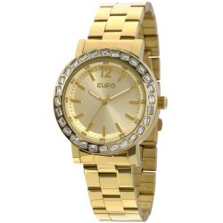 Relógio Euro Feminino Brilho Assimétrico EU2035XYY/4X-Dourado