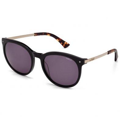 2320a94ef Óculos de Sol Colcci C0013 Preto e Dourado Brilho Unissex Ref C0013A3101