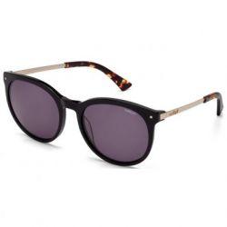 Óculos de Sol Colcci C0013 Preto e Dourado Brilho Unissex  Ref C0013A3101