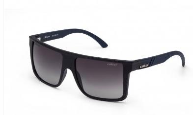 d39fbb1e9 Óculos de Sol Colcci Garnet 5012 Preto e Azul Fosco Unissex Polarizada Ref  05012A4147