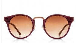 Óculos de Sol Colcci C0032 Bordô Brilho com Dourado Envelhecido  Ref C0032C3034