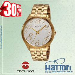 Relógio Technos Feminino Dress 2035BBL/4K