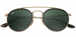 RAY.BAN ROUND DOUBLE BRIDGE RB 3647-N 001 51 22 145 3N